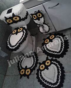 Owl Bathroom Set Crochet – House Decor Ideas
