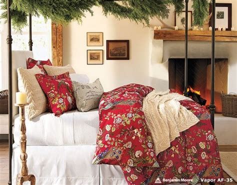 christmas bedroom decorating ideas beuatyfull christmas