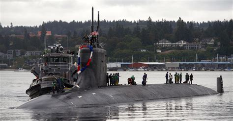Electric Boat Bremerton Wa by Uss Seawolf Ssn 21 Attack Submarine Us Navy