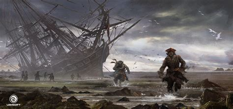 Donglu Littlefish Assassins Creed Iv Black Flag Concept Art