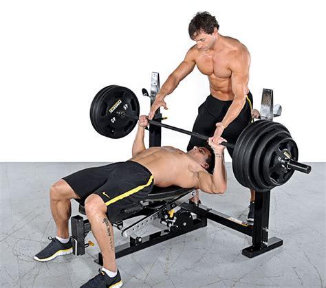 Heavy Bench Press by Powertec Olympic Bench Heavy Duty Bench Press Ebay