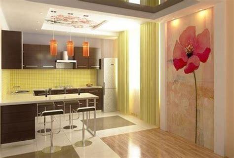 summer decorating ideas  brighten  modern kitchen decor