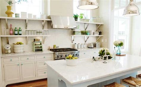 open kitchen shelves decor idea image  home ideas