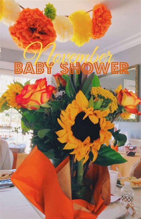 november baby showers on - November Baby Shower Theme Ideas