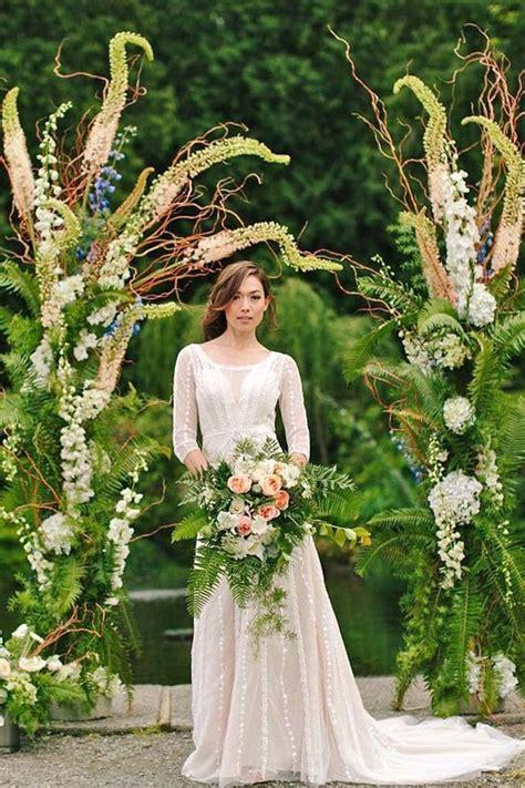 wedding trend greenery wedding color ideas page