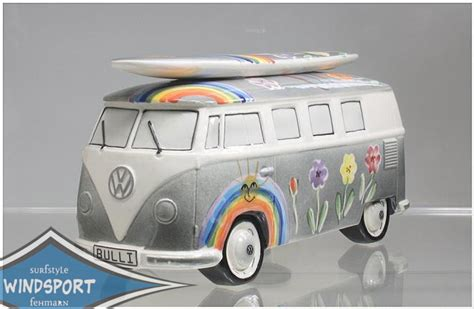 vw spardose vw surf bulli t1 spardose hippie schwarz vw lizensiert das original ebay