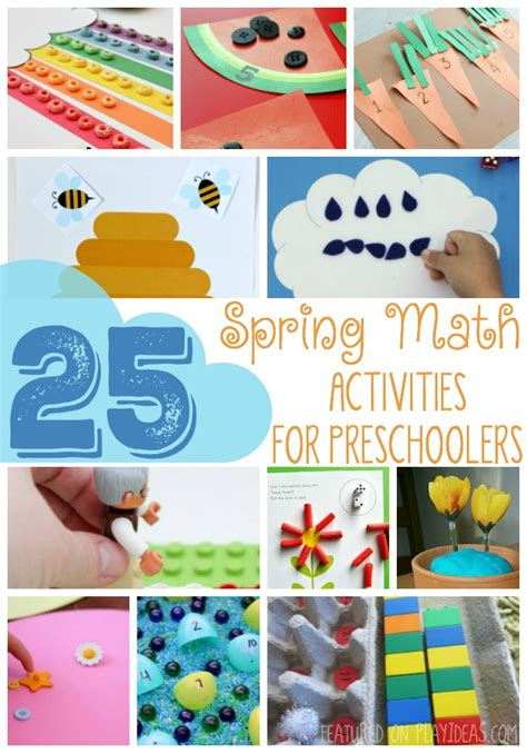 spring lessons for preschoolers math activities for preschoolers theme plant 553