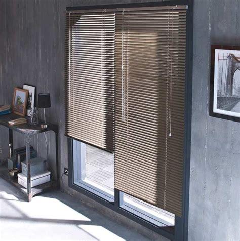 les rideaux pour cuisine store vénitien de salon couleur taupe photo 9 20 pour