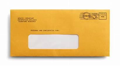 Envelope Postage Address Paid Franking Window Mailing