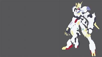 Gundam Barbatos Lupus Rex Minimalist Iron Blooded