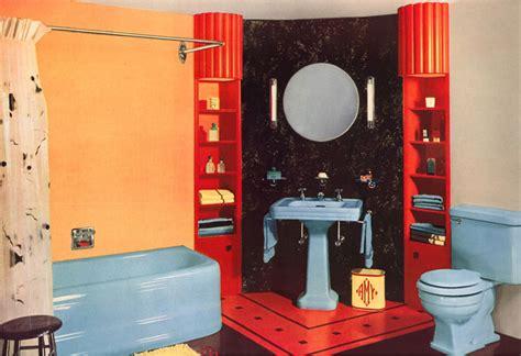 evolution  colored bathroom fixtures  house