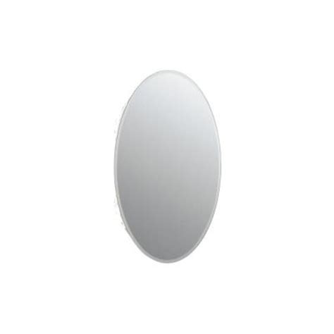 Kohler Oval Mirror Medicine Cabinet by Kohler 20 9 16 In W X 31 In H Oval Recessed Mirrored