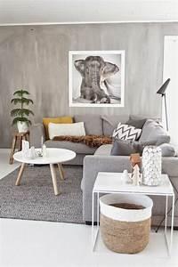 Wohnzimmer Teppich Grau : wohnzimmer grau in 55 beispielen erfahren wie das geht ~ Indierocktalk.com Haus und Dekorationen