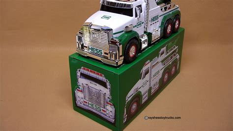 hess tow truck rescue team rays hess toy trucks