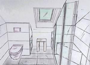 Kleine Küche Mit Schräge : kleine bader mit ebenerdiger dusche raum und m beldesign inspiration ~ Markanthonyermac.com Haus und Dekorationen