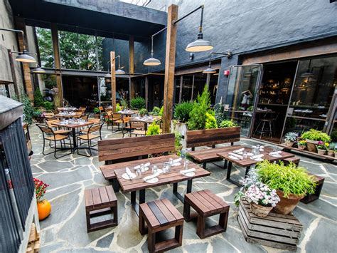 Dc's Hip Neighborhood Restaurants And Bars  Washington. New Covered Patio. Patio Home For Rent. Flagstone Patio Construction Details. Patio Cover Pictures