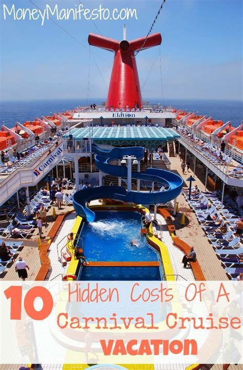 11 hidden costs on carnival cruises for new cruisers we