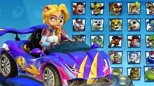 Crash Team Racing Nitro Fueled - All Characters in ...