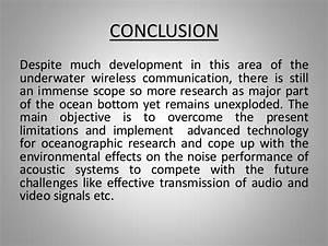 UNDERWATER WIRELESS COMMUNICATION_PPT