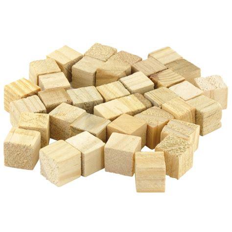 Cube En Bois Sachet De 36 Cubes En Bois Brut 1 5cm 224 D 233 Corer