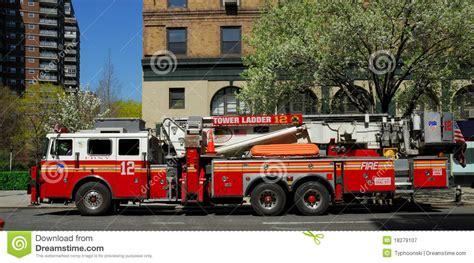 camion de pompiers 224 new york city photographie 233 ditorial
