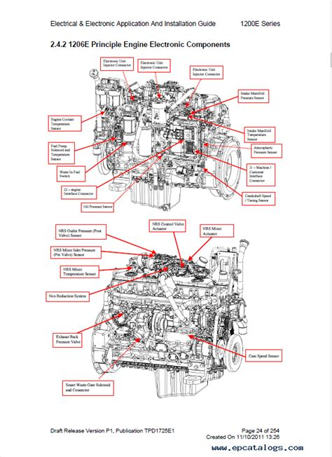 perkins engines  electrical electronic guide