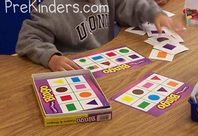 teaching shapes in pre k prekinders 971 | shape bingo