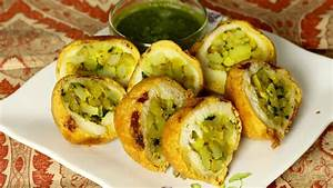 Aloo (Potatoes) Bread Pakora Manjula's Kitchen Indian