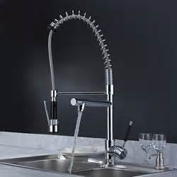 solid brass kitchen faucet solid brass kitchen faucet with two spouts chrome
