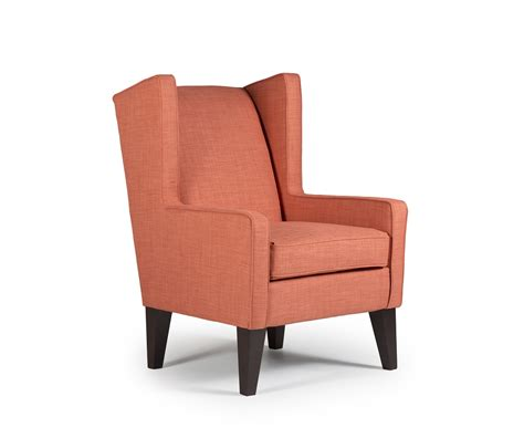 wing chair item number karla wing back accent chair