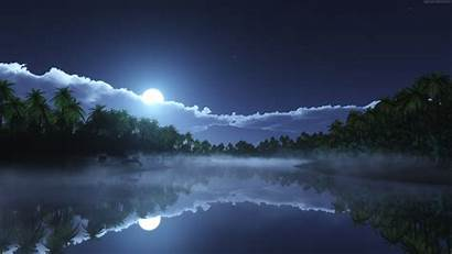 4k Night Sky Moon Awesome