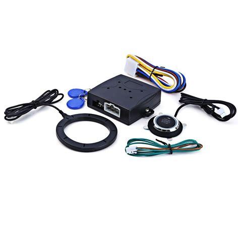Universal Rfid Auto Car Alarm Finger Push Starter Engine