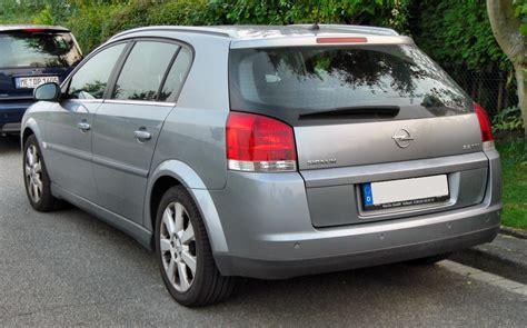 Opel Signum by Datei Opel Signum Rear 20090919 Jpg