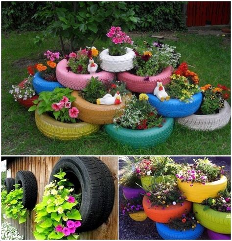 Outdoor Parrot Decor by 20 Diy Ideas To Repurpose Old Tires For Home And Garden