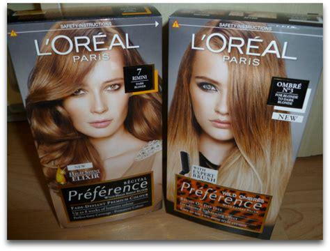 L'oreal Ombre Hair Colour And Recital Preference No.7 Dark