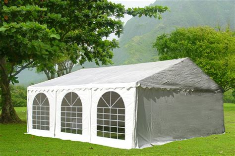 white pvc party tent canopy