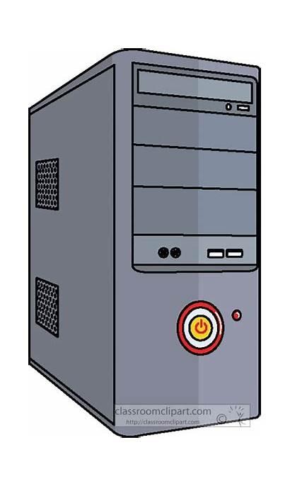 Computer Case Desktop Cpu Clipart Computers Classroomclipart