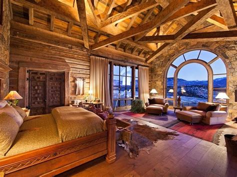 Best + Rustic Cabin Master Bedroom Ideas On Pinterest