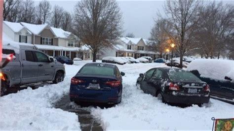 major winter snow storm hits north carolina