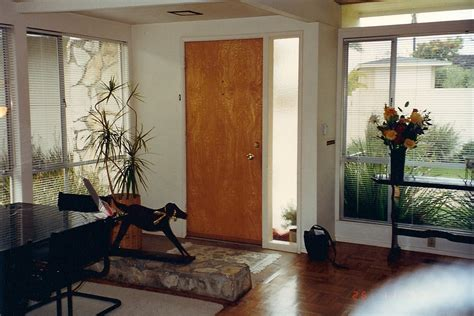 modern interior doors mid century solving the mantle problem in a mid century modern mid 16454