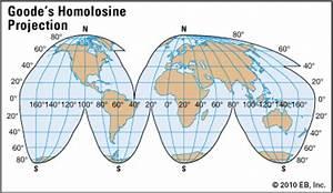 homolosine projection - Students | Britannica Kids ...