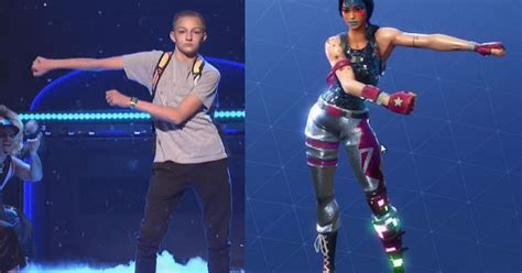 backpack kid sues fortnite  flossin dance
