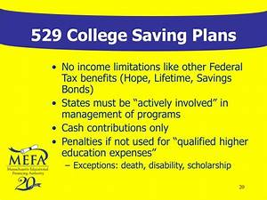 PPT - 529 College Savings Plans: A National Overview ...