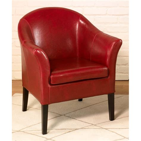 clementine leather club chair dcg stores