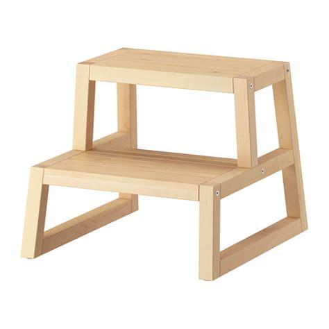 Baignoire Ikea Support by Molger Marchepied Bouleau 41x44x34 Cm Ikea