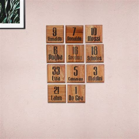 Top Sports Players Custom Wooden Blocks | Gifts For Sports ...