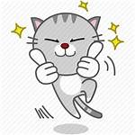 Icon Cartoon Awesome Cat Emoji Character Library