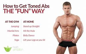 How To Get Toned Abs The Fun Way