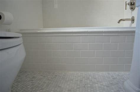 white subway tile tub surround design of your house