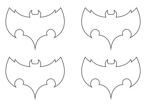 7 Best Images Of Halloween Bats Printables Halloween